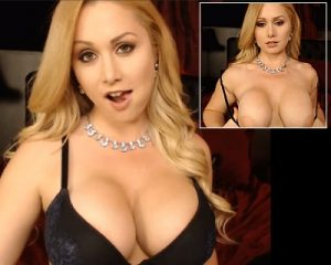 Candi Tits95, beautiful blonde camgirl with big, yummy tits.